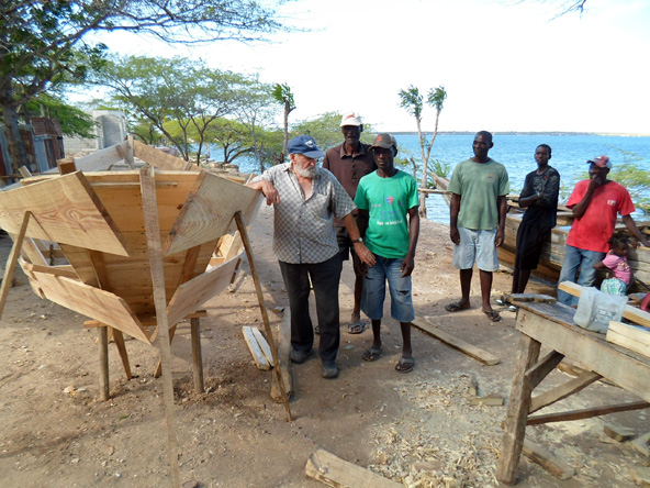 Project of the NGO Jeune Corail